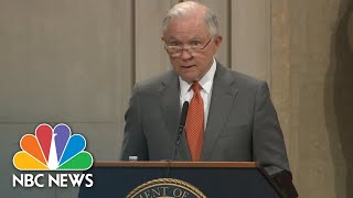 Jeff Sessions Announces New Religious Liberty Task Force | NBC News