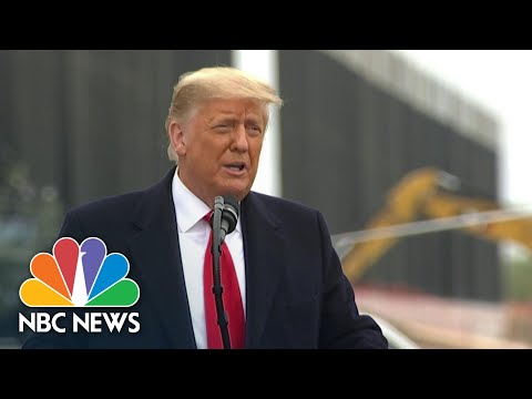 Fact-Checking Trump's Claims About His Border Wall Promises   NBC News NOW