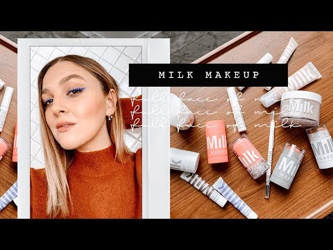 FULL FACE OF MILK MAKEUP | FIRST IMPRESSIONS | I Covet Thee