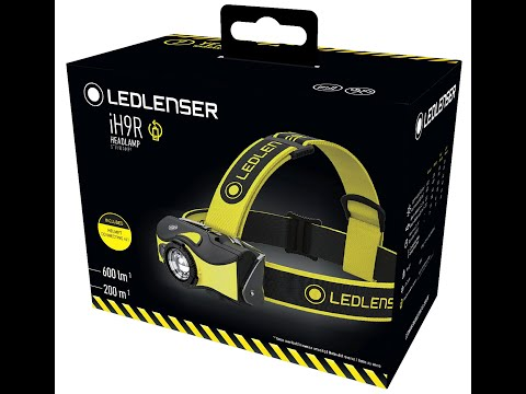 Ledlenser® iH9r Rechargeable LED Head Torch