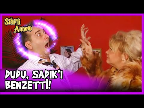 Dudu ve Sadık Arasında Fight! - Sihirli Annem 34.Bölüm