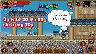 Ninja school Online: Úp Lv Nhanh Nhất Là Đây ( Siêu Tốc Độ ) ✔  ✔