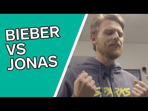 Jonas sjunger Bieber