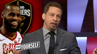 Chris Broussard on George Hill's comments about having to be LeBron's Robin | SPEAK FOR YOURSELF
