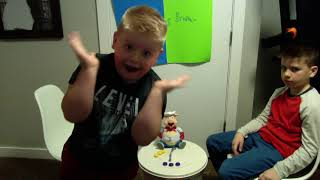 Playing Pop the Pig! - Bro vs Brother