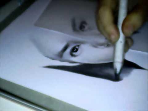 Speed Drawing Exo Luhan