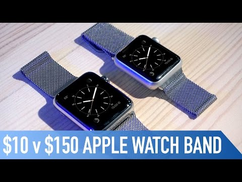 $10 v $150 Milanese Loop Apple Watch Band | Is it any good?