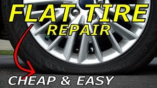 How To Fix A Flat Tire - Repair Tools & Plug Kits to keep in your car