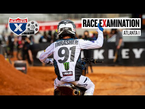 Sexton's Late Drama, Thrasher's First Win & More - Atlanta 1 Race Examination