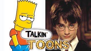 Nancy Cartwright's Bart Simpson Is Harry Potter! (Talkin' Toons w/ Rob Paulsen)