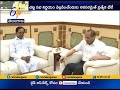 KCR meets Governor at Raj Bhavan for three Hours