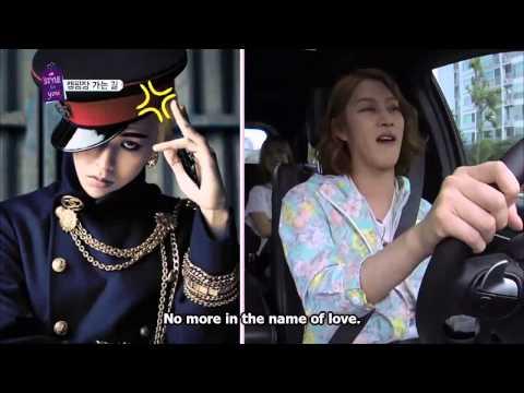 Heechul (희철) Imitates G-Dragon