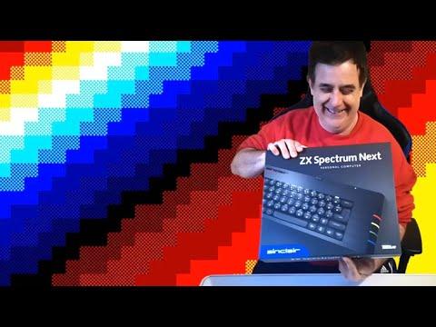 Unboxing ZX Spectrum Next