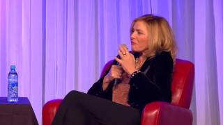 Kim Cattrall discussing her role as Samantha on Sex and the City