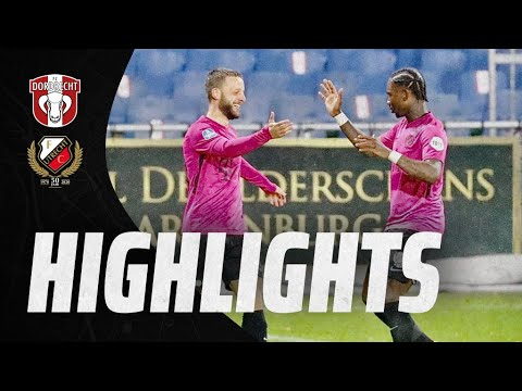 HIGHLIGHTS | FC Dordrecht - FC Utrecht