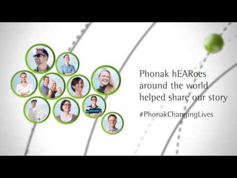Phonak 70 years campaign across the globe