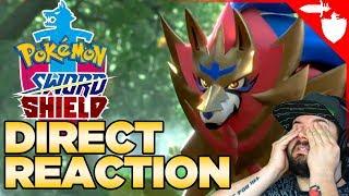 Pokemon Sword & Shield Direct Reaction
