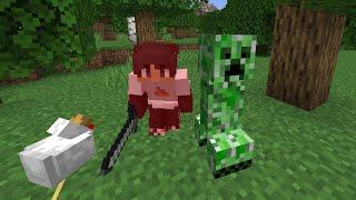 Minecraft, But Mobs Are Randomly Hostile...
