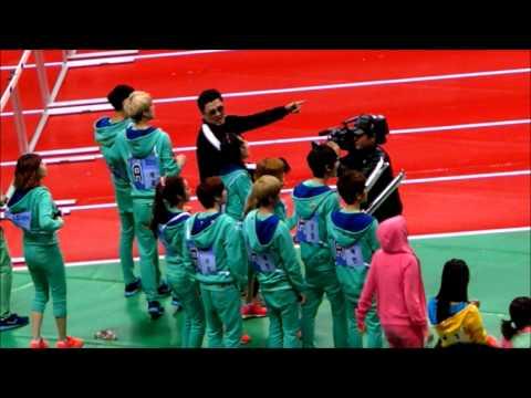130128 아이돌 스타 육상&양궁 선수권 대회 EXO Cute moments 2