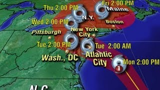 Hurricane Sandy: Warnings Issued in East Coast States