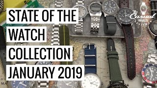 State of the Watch Collection Jan 2019