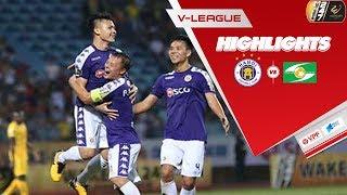 Hà Nội thắng đậm SLNA 4 bàn không gỡ, vươn lên vị trí đầu bảng xếp hạng V.League 2019 | VPF Media