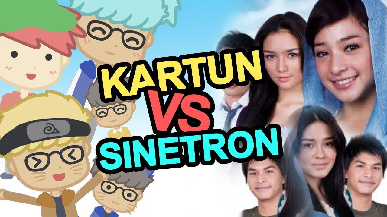 KARTUN VS SINETRON