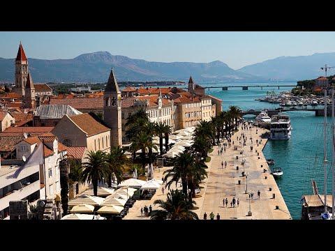 Historic City of Trogir, Croatia in 4K