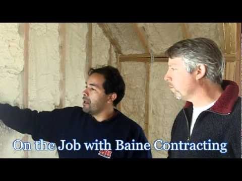 Home Insulation at the Jersey Shore - On the Job with Baine Contracting