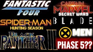 MARVEL PHASE 5 EVERY CONFIRMED MOVIE