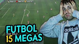SORPRENDENTE JUEGO DE FÚTBOL CON TAN SOLO 15 MEGAS !!!