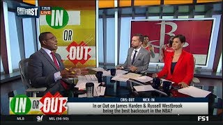First Things First | In or Out on James Harden & Westbrook being the best backcourt in the NBA?