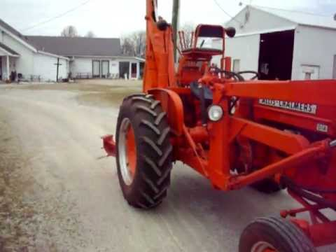 Allis Chalmers D14 Industrial Youtube
