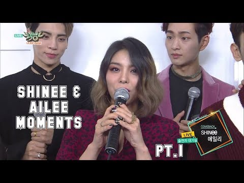SHINEE & AILEE MOMENTS COPILATION PT 1