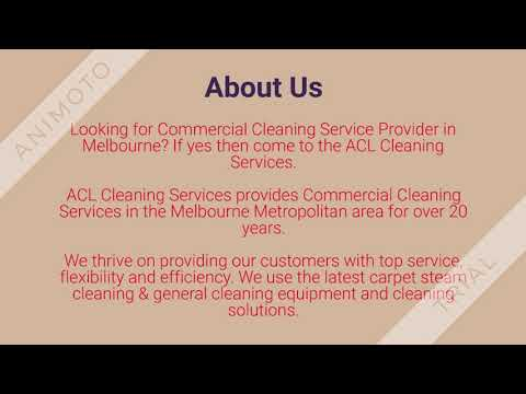 Commercial Cleaning Company in Melbourne