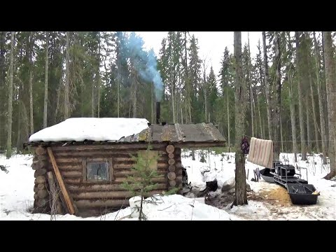 Жизнь в тайге  Один и надолго  Часть 6  Живу в РАЮ  Быт в лесной избе  Блюдо из СССР