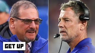 Why did the Giants fire Pat Shurmur, but retain GM Dave Gettleman? | Get Up