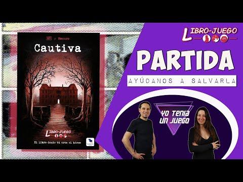 Cautiva | Jugamos Una Partida | Librojuego | MasQueOca | Español
