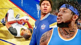 NBA 2k16 My Career Gameplay - TAKING OUT GORDON! 100 Team Chemistry! Ep. 49