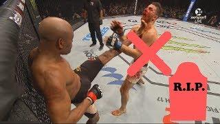 Anderson Silva Knockouts [Highlights] - Anderson Silva Knockout Kick To Face