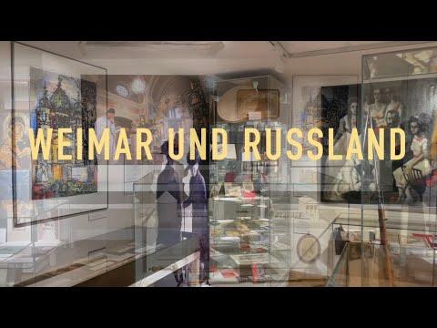 """Ausstellung """"Weimar und Russland"""" - Stadtmuseum Weimar"""