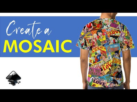 How To Create a MOSAIC in Inkscape – Easy Tutorial for Beginners