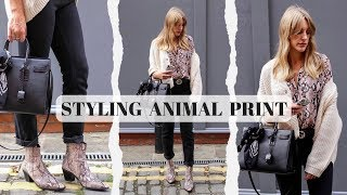 Animal Print 4 Ways | How To Style Series