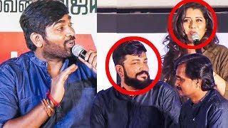 Vijay Sethupathi Trolls VJ Priyanka On Junga Audio Launch!