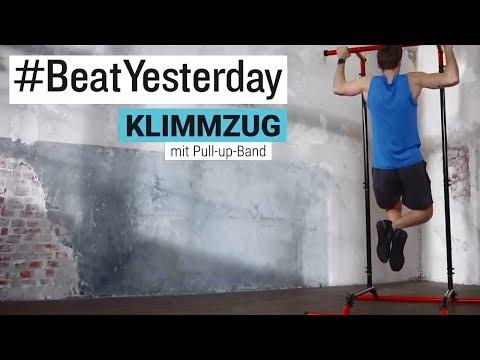 #BeatYesterday Workout Tutorial: Pull-Ups / Klimmzüge