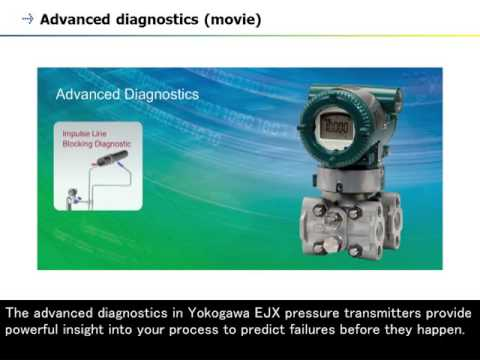 8. Pressure Transmitter (DPharp Series) - Advanced Diagnostics -