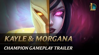Kayle and Morgana: The Righteous and the Fallen | Champion Gameplay Trailer - League of Legends - YouTube