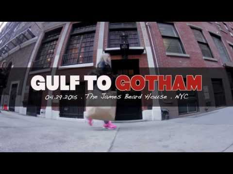 Gulf to Gotham - James Beard House 2015