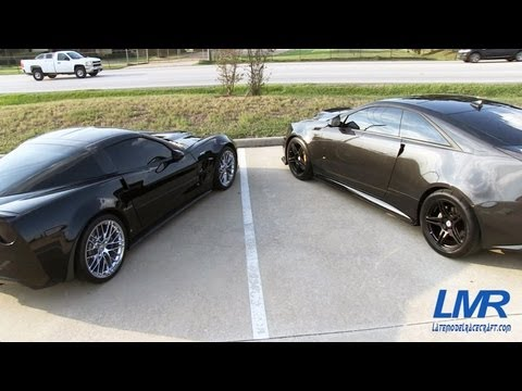 Angry Sounding ZR1 and CTS-V