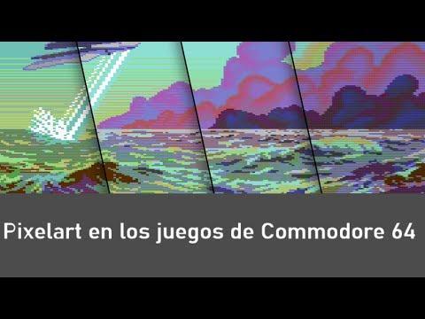 C64 REAL 50Hz : PixelArt en los Juegos de Commodore 64